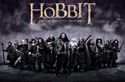 Movie poster for the hobbit