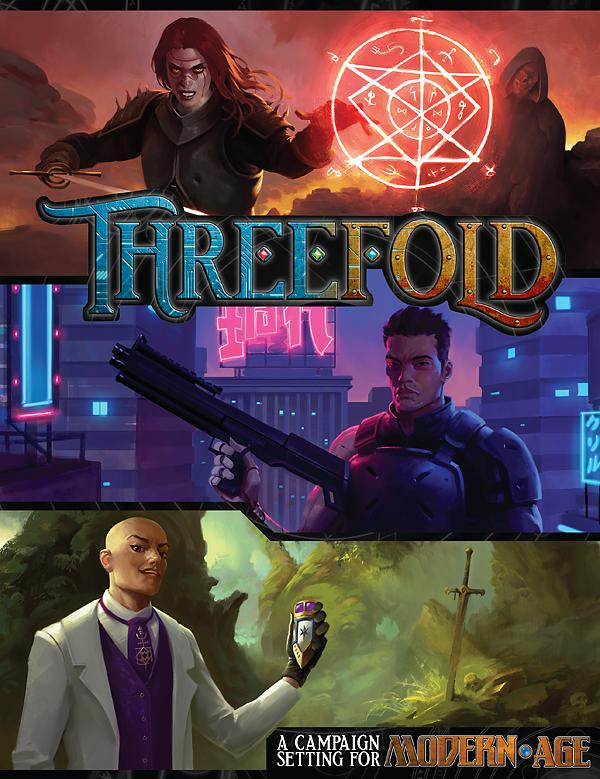 Threefold RPG Cover