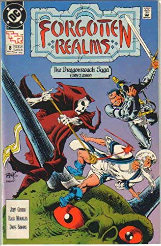 Cover of a Forgotten Realms comic.