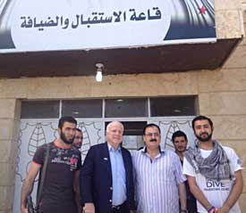 Sen. John McCain visiting rebels in Syria