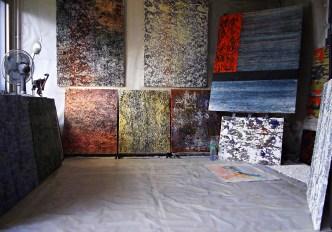 JEREMIE FRANCBLUM's studio (October 2013)