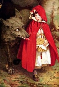 "Jessie Willcox Smith, ""Little Red Riding Hood"", 1911"