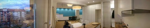 Kitchen and office