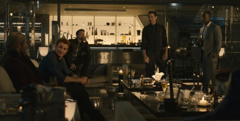 Avengers take turn trying to lift Thor's Hammer