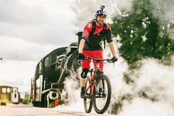 Danny MacAskill eyes up gap to railway track