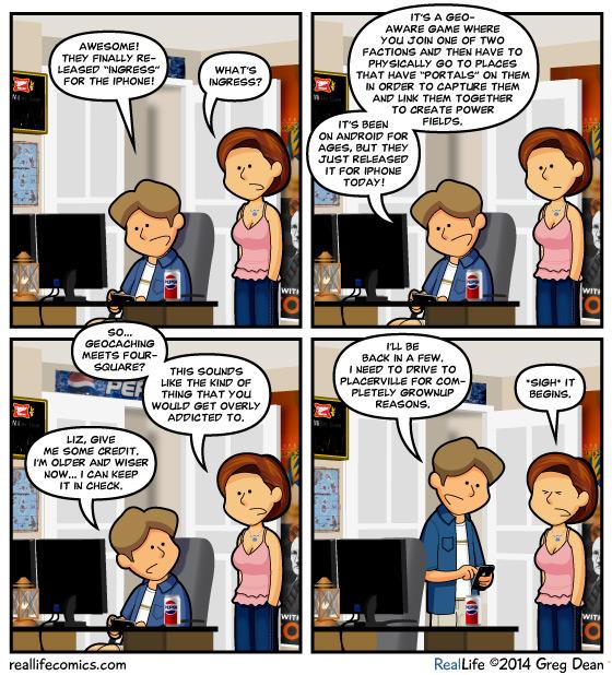 Reallife Comics, July 15, 2014