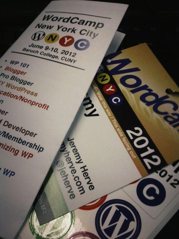 WordCamp New York 2012