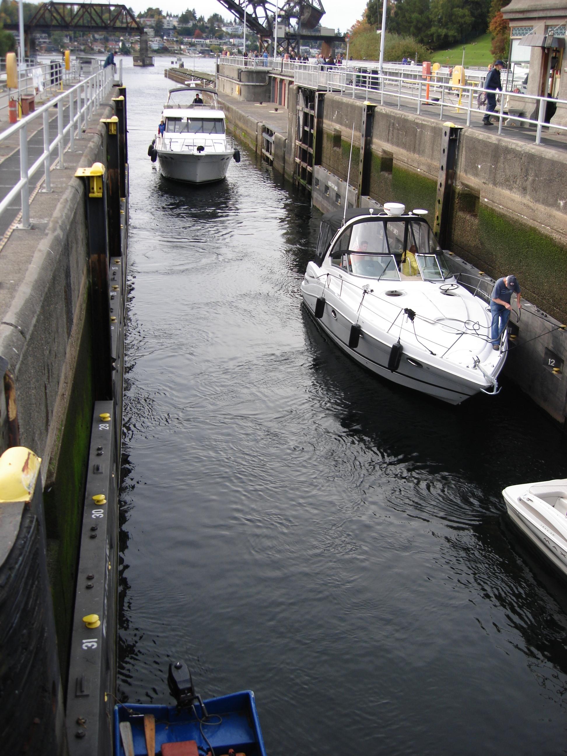 Small Ballard lock