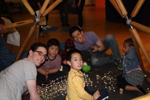 Building Gumdrop Buildings at the Brooklyn Children's Museum