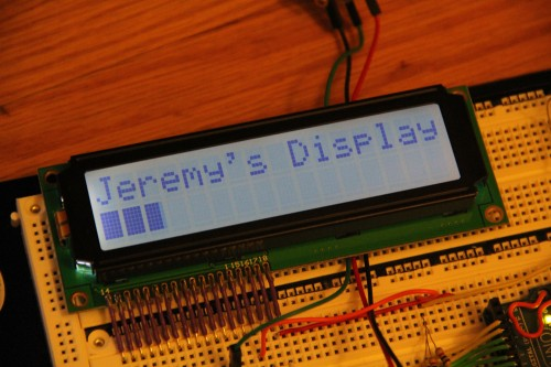 Lumex LCD Display