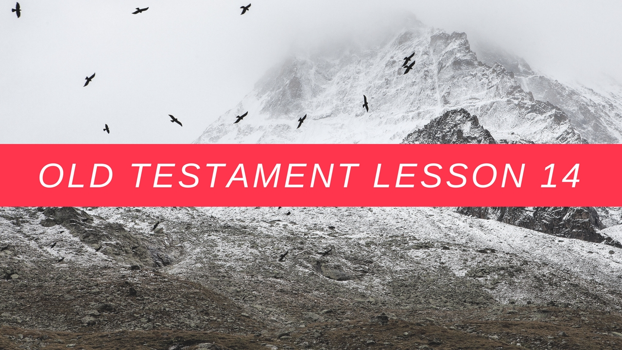 Old Testament Lesson 14