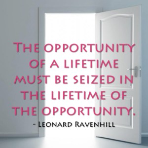 Leonard Ravenhill - Opportunity Quote