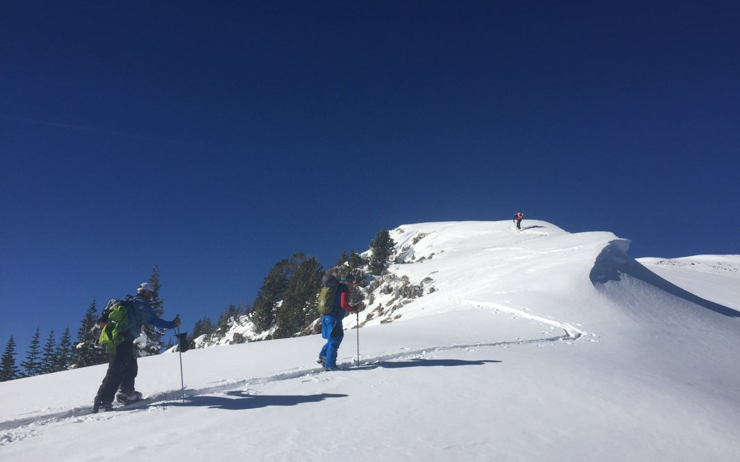 A Day of Skiing the Uintah Mountains