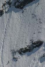 Face Nord Pointe du Midi Jeremy Janody Guide