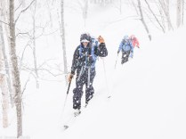 Ski de rando à Hokkaido