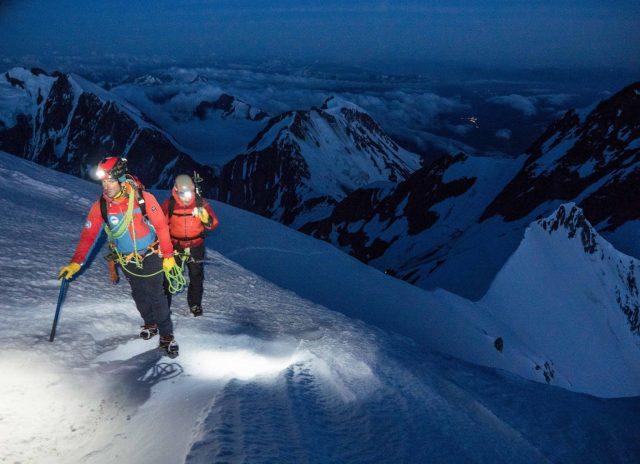 Alpinisme au Mont-Blanc