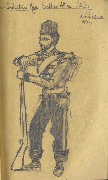 British Soldier Attire
