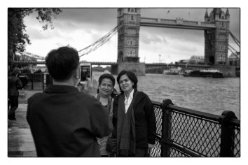 london tourist photographs