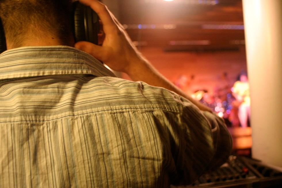 Sound Guy with Headphones