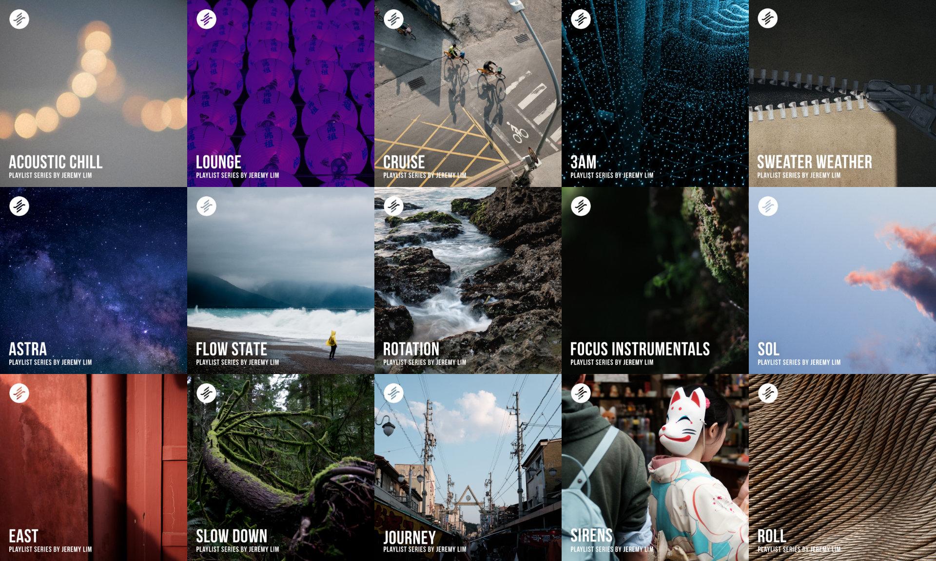 Playlist Series by Jeremy Lim