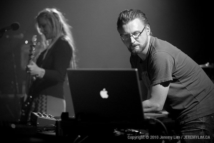 Rhys Fulber from Conjure One performing at VENUE in Vancouver