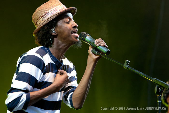 K'naan headlined the celebrations at Stanley Park for Park Day 2011.