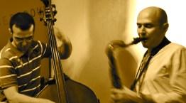 Playing with Makram Aboul Hosn, Beirut, 2012