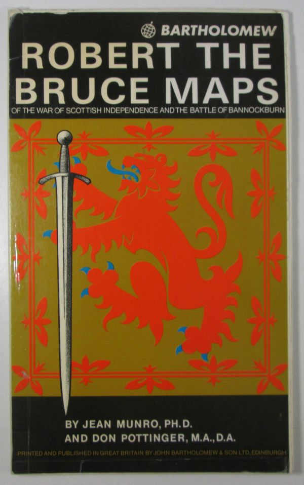 74 Old Vintage Bartholomew's Robert The Bruce Maps – Jean Munro & Don Pottinger Bartholomew Maps 2