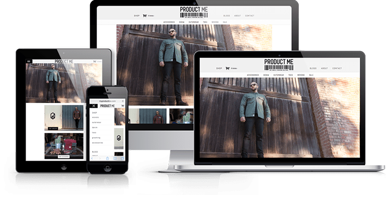 Product Me - Responsive Web Design