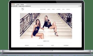 Lovers + Friends - Website