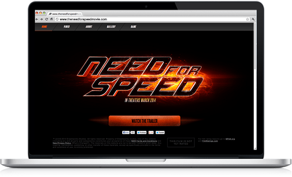 Portfolio - Need for Speed - Code by Jeremy Schuler