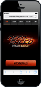Portfolio - Need for Speed - Mobile