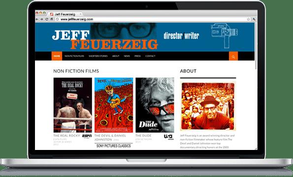 Portfolio - Jeff Feuerzeig - Web Design