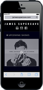 Portfolio - James Supercave - Mobile