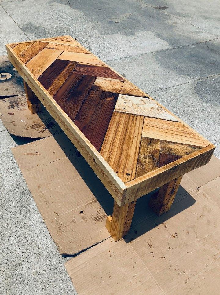 Jeremy Schuler - Woodworker - Herringbone Coffee Table - 07-15-18