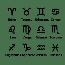 les signes du zodiaque jeretiens trucs mn motechniques moyens et m thodes. Black Bedroom Furniture Sets. Home Design Ideas