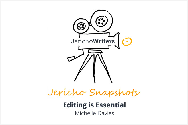 Editing is Essential – Michelle Davies
