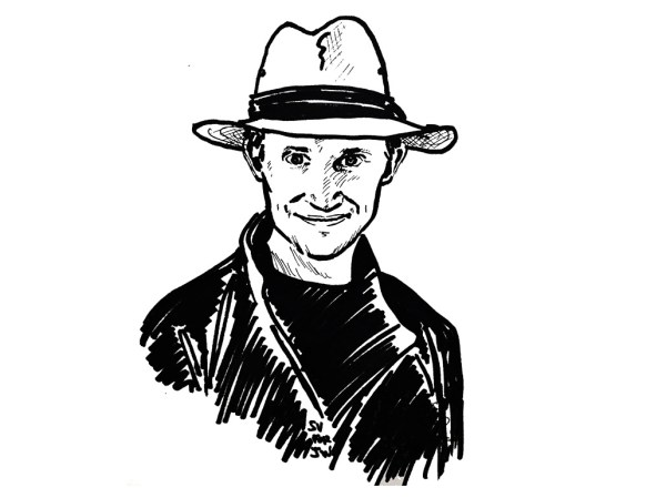 Harry Bingham Portrait