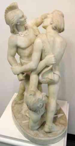 Edmonia Lewis Indian Combat sculpture