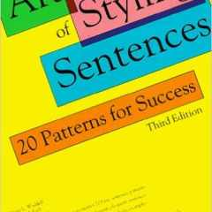 #EditTip: Sentence Structure and Styling Sentences