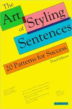 The Art of Styling Sentences Book Cover