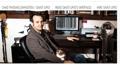 Image of Chad Thomas Johnston Blog Banner