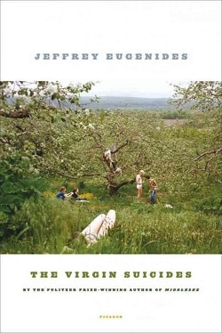 Cover of the Virgin Suicides by Jeffrey Eugenides