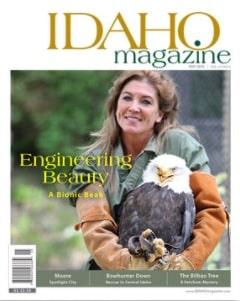 Cover issue of Idaho Magazine May 2016