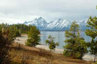 Picture of Jackson Lake by Colleen M. Story