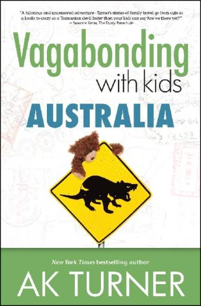 Book cover of Vagabonding with Kids