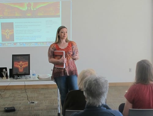 Photo of Donna Cook at Boise Library
