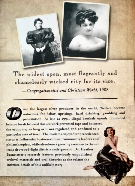 Back Cover of Selling Sex in the Silver Valley
