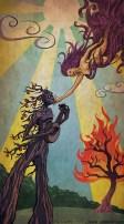 The Lovers (tarot card illustration)