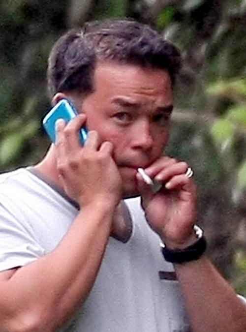 "Jon Gosselin having a ""mantrum"" with his drug dealer, also known as his girlfriend Hailey Glassman."